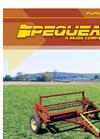 Pequea - Model 710 & 910 - Fluffer Tedders Brochure