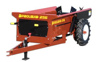 Pequea - Model 25GD - Compact Manure Spreaders