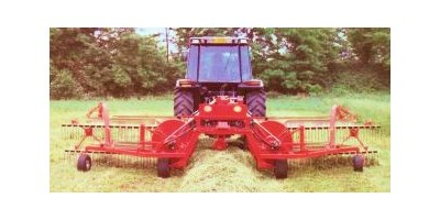 Model 1292 - Double Towed Rakes