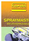 SPRAYMASTER BASE - Trailed Low Volume Sprayers Brochure