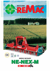 Rotary Harrow NE-NEX-M Catalogue