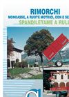 Single-Axle Trailers Catalogue