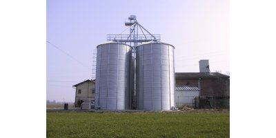 Corrugated Metal Silos