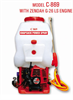 Model C-869 - Knapsack Power Sprayers