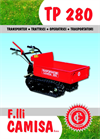 Model TP 280 ECO - Tracked Minidumper- Brochure