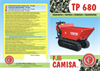 Model TP280 - Tracked Minidumper- Brochure