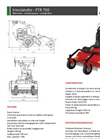 Flailmower FTR750- Brochure