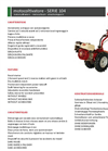 Model 104 Series - Motor Cultivators Brochure