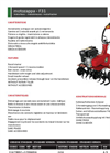Model F41 - Motorhoes- Brochure