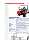Supertrac - Model 4x4 - Agricultural Transporters  Brochure