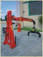 Tecnomeccanica - Model TFG 300L - Lift for Wood Moving