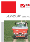 Model AXIS M 20.2 - Two Disc Fertiliser Spreader Brochure