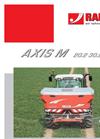 Model AXIS M 20.2 - Two Disc Fertiliser Spreader Brochure