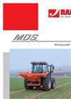 Model MDS 10.1 - Compact Professional Spreaders Brochure