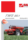 Model TWS 85.1 - Large Area Fertiliser Spreaders Brochure