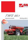 Model TWS 85.1 - Large Area Fertiliser Spreaders Brochure