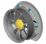 Fieni - Model D.550-60SFVPL - Fan Assemblies for Agricultural Sprayers