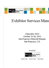 Cities Alive 2013 Exhibitor Services Manual