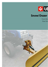 Lewis - Model 15QH 1.4M - Loader Dozer Blade Brochure