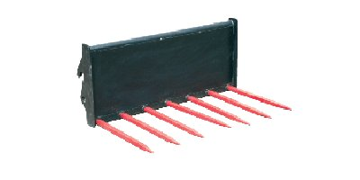 Lewis - Model 15QH - 7 Tine Muck Fork