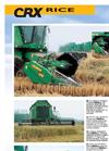 Model CRXRice - Folding Grain Platforms System Brochure
