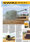 Model MAXI version SWR3 - Folding Grain Platforms System Brochure