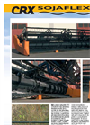 SOJAFLEX - Model CRX - Folding Header Brochure