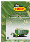 Model DB 75, 80 & 90 - Self-Loading Wagons with Fork Rotor Brochure