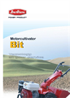 BARBIERI - RED 1+1 - Walking Tractor Brochure