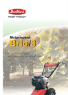 BARBIERI - BRIO/3 - Motor Mower Brochure