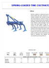 COMBI - Tiller Cultivator Brochure