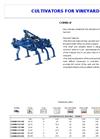 Model COMBI-V - Cultivator Brochure