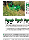 Model 118/TL - Flail Mower - Brochure