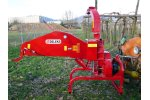 Model DK-1200 - Wood Chipper