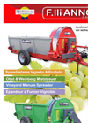 Orchard - Vineyard Manure Spreader Brochure