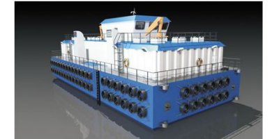Model FFB420 - Feed Barge