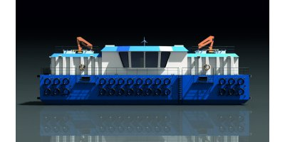 Model FFB200 - Feed Barges