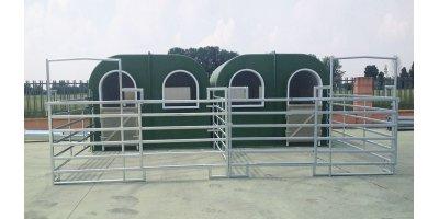 Fiberglass Horse Box