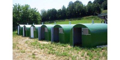 Fiberglass Boxe for Pigs
