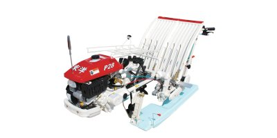 Model P28 - Walking type Rice Transplanter