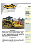 Model RDM52EX - Excavator Forestry Mulcher Brochure
