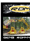 Model RDM44EX - Excavator Forestry Mulcher Brochure
