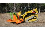 Model SS  - Mini Might Mulchers for Skid Steers