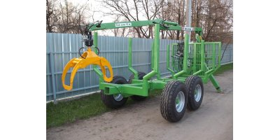 Model AFA 5000 - Forestry Trailers
