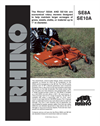 Rhino - Model SE SERIES - Medium Duty Multispindle Rotary Mowers Brochure