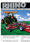Turf Flex - Model TX - Tri-Deck Finishing Mowers Brochure