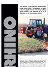 Rhino - Model SV2160 - Hydraulic Boom Rotary Mowers Brochure