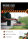 Rhino - Model MDB130 - Mechanically Driven Ditch Bank Mower Brochure