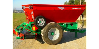 Ravid - Trailed Fertilizer Spreaders for Vineyards