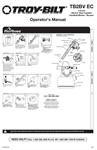Gas Leaf Blower / Vac - Brochure